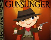 The Little Gunslinger 8x10 PRINT
