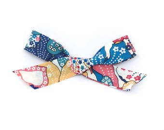 Annie London Bow- RTS Hand Tied School Girl Bow. Clip or Headband.