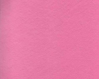 Shocking Pink 20/80 Wool Blend Felt 12x18