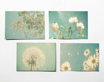 Flower Postcards With Envelopes - Garden