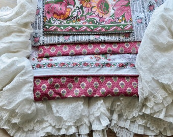 Lovely Vintage French Bundle Of Pierre Deux Fabric