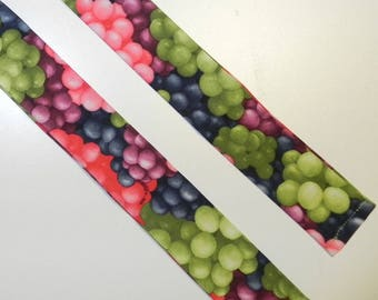 Neck Cooler Table Grapes or Wine Grapes Pink Green Purple Cooling Bandana