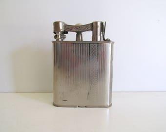 Vintage World War II Era Silver Cigarette  Lighter Made in Occupied Japan