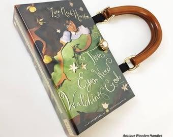 Their Eyes Were Watching God Book Purse - Zora Neale Hurston Book Cover Handbag - Best Friend Gift - African American Inspirational Gift
