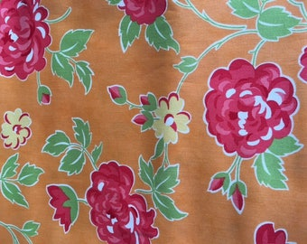Sale. Marmalade  Bloom in orange by Bonnie and Camille for Moda