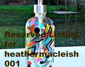 Reserved Listing for heathermacleish001 Thank you.
