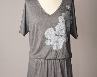SUMMER SALE women's tunics, tunic dress, women tunic tops, gray tunic