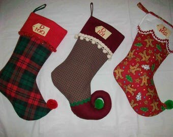 Christmas Stocking D100