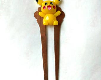 Decoden Hair Stick Lolita hair Fork Kawaii Anime Video Game Japanese Anime Trainer Cosplay Jewelry Hair Accessory Copper Hair Prong