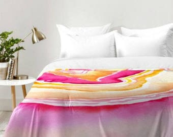 Pink Agate Comforter