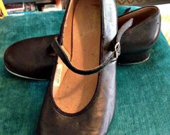 Bloch, Black, Tap, Dance, Shoes, Size 8, Women's, Mary Jane's