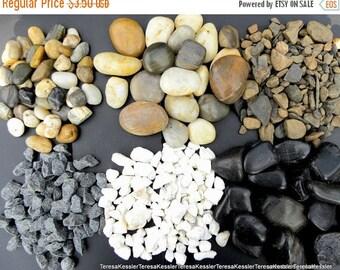 Save 15% Rocks-Gravel-Polished stones for your terrariums or Vivariums-Bird Hose Decor-Zen Garden 1 pound