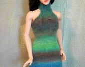 mature mini BJD handknitted dress Me Jane