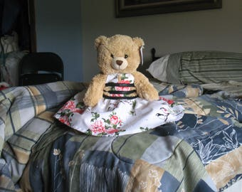 Reserved custom listing for ateerpatel for one teddy bear dress per photos provided