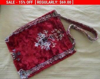 Vintage Carpet Bag Coachella Boho 1960s