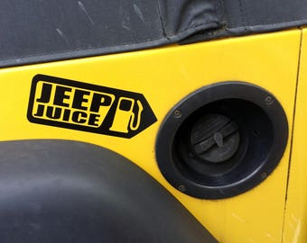 Jeep Juice Vinyl Decal Car Sticker