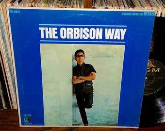Roy Orbison The Orbison Way Vintage Vinyl Record