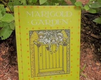 MARIGOLD GARDEN by Kate Greenaway vintage book