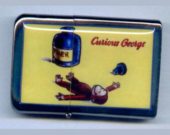 Curious George Ether Refillable Lighter