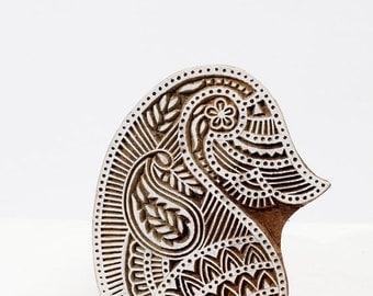50% off Sale Hand carved wood stamp 197-1