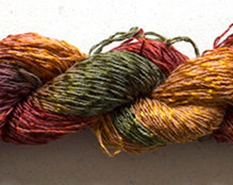 Candy Twist, Hand Painted yarn, 300yds - Old Brass