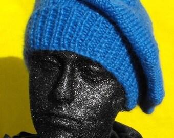 40% OFF SALE Instant Digital File pdf download Knitting pattern -madmonkeyknits Chunky Beret hat knitting pattern