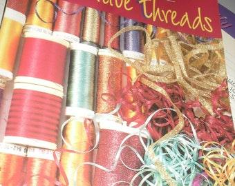 Craft book - Machine Quilting With Decorative Threads - That Patchwork Place