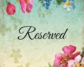 Reserved Listing for Robin