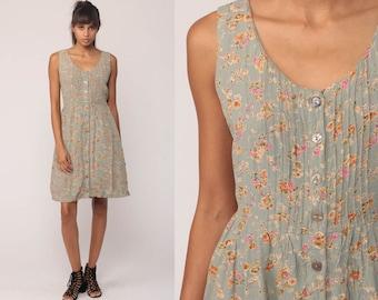 Vintage floral dress | Etsy