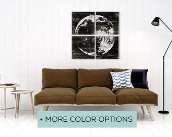 Moon Nursery Art - Moon Nursery Print - Moon Art - Moon Wall Decor - Moon Print - Full Moon Wall Art - Full Moon Artwork - Moon Print