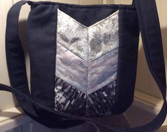 Black Ombre Crossbody Bag