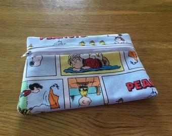 Peanuts Comicstrip Makeup Pouch