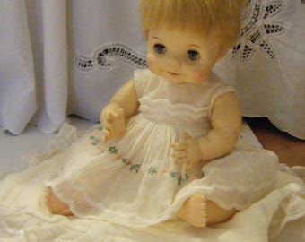 Vintage Effanbee Doll with original clothes and pillow