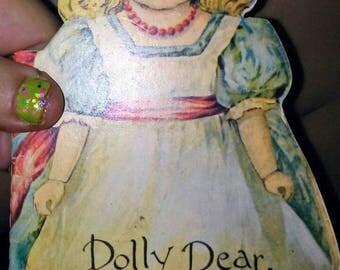 Vintage Merrimack Reproduction Dolly Dear Booklet
