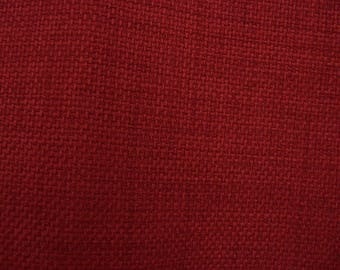 """Red Richloom Fabric by the Yard,Patriot Cherry,57"""" Wide,Upholstery,Pillows,Crafts, Bags,Slipcovers,Satisfaction Guaranteed,You Pay Shipping."""