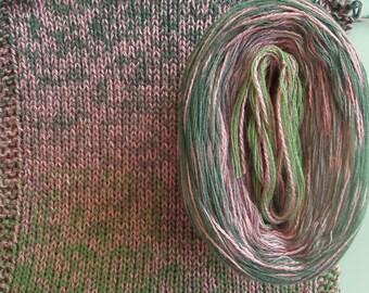 LAUREL SILK Medley - Color Changing Cotton/Silk yarn - 320 yards/100 gr - Sport Weight