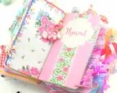 Printable Traveler's Notebook Insert & Faith Art Journal with Bible Verse - Vintage Hymnal Midori for Bible Journaling or a Junk Journal kit