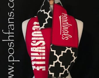 University of Louisville Infinity Scarf