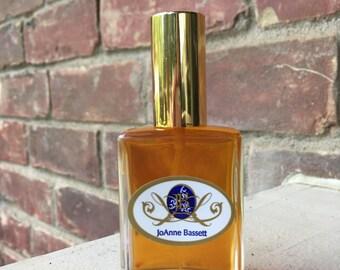 All Natural Perfume Sample - Passion eau de perfume sample - botanical perfume, organic perfume, floral, jasmine, ylang ylang, wood, exotic