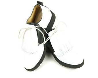 Golf Shoe Kilties, Golf Kilties, Golf Gifts for Men, Kiltie Fringe, Leather Fringe, Shoe Fringes, Kilties for Golf Shoes & Oxford Shoes
