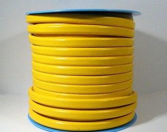 Regaliz Licorice Leather - Yellow - R18 - ChooseYour Length