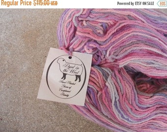 SALE SALE SALE Reclaimed Homespun 100% Australian Merino Wool Yarn 18 Plus Ounces Over One Pound Shades Pink Plum Gray Knitting Weaving Croc