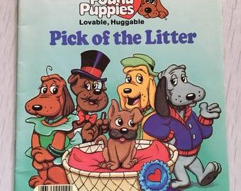 1986 Pound Puppies softcover children's book