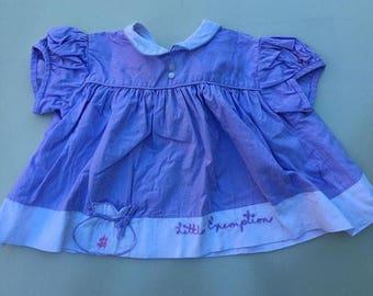 """Newborn Nannette """"little exemption"""" novelty dress 0-3m"""