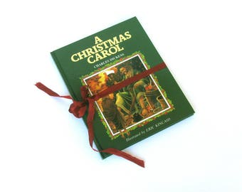A Christmas Carol By Charles Dickens, Illustrated By Eric Kincaid, British Edition, Brimax Books, England, Vintage Charles Dickens Book