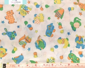 Vintage Colorful Baby Blanket