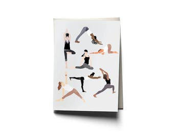 Group Yoga A6 Single Card