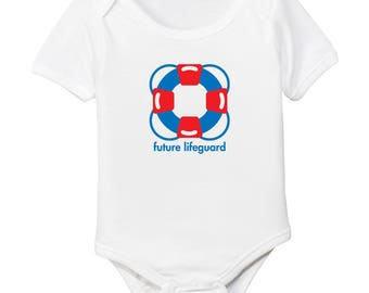 Future Lifeguard Organic Cotton Baby Bodysuit