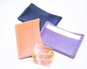 Ho-Ho-Sew Genuine Leather Double Slot Card Case Card Holder DIY Kit