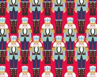 Snowflake Waltz The Nutcracker Ballet Fabric Cavalier Soldiers Horse Cavalry